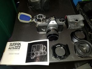 Honeywell pentax film Camera with Accessories for Sale in Kent, WA