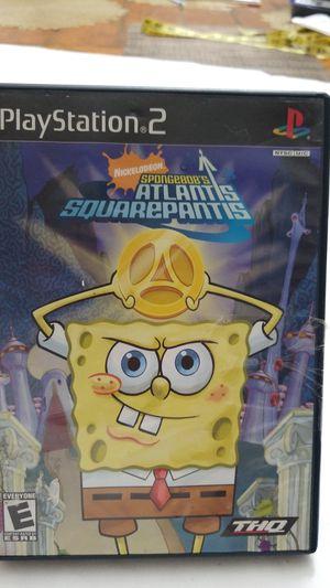 Sponge Bob Atlantis squarepantis for Sale in Anaheim, CA