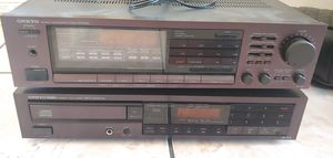 Onkyo Integrated Amplifier TX 84 DX 330 CD PLAYER for Sale in Las Vegas, NV