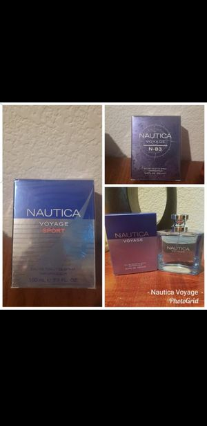 Nautica Voyage perfumes $25 each for Sale in Moreno Valley, CA