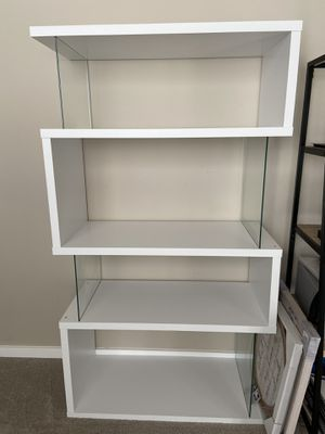 White Bookcase for Sale in Kent, WA