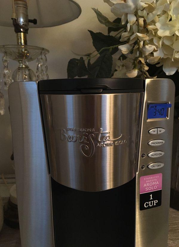 Starbucks Barista Aroma Solo Coffee Maker