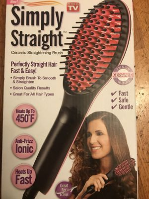 Simply straight simply brush to smooth & straighten for Sale in Richmond, CA