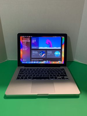 2012 Apple MacBook Pro laptop | 13 inches | macOSX Catalina 10.15 | Core i5 CPU | 1TB Hard Drive | 8GB | Battery + Charger + Open Office for Sale in Doral, FL