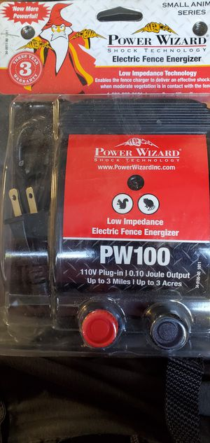 Power Wizzard Electic fence for Sale in Snohomish, WA