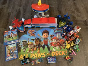 REDUCED HUGE lot of Paw Patrol toys for Sale in Indianapolis, IN