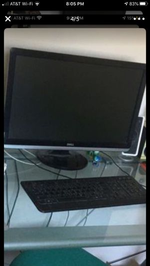 Deep computer with windows 7 great memory ! And with speakers too for Sale in San Fernando, CA