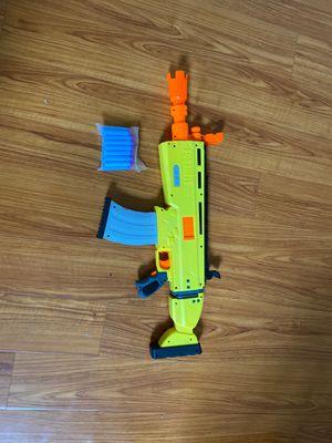 Fortnite scar Nerf gun with bullets for Sale in Irvine, CA