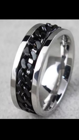 MENS Titanium Spinner Chain Link Brand New BANDS for Sale in Phoenix, AZ