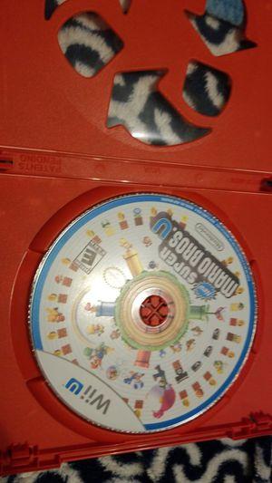 Nintendo Mario Wii U video game for Sale in Marysville, WA