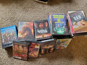 DVD and Blu-ray lot for Sale in Mitchell, IL