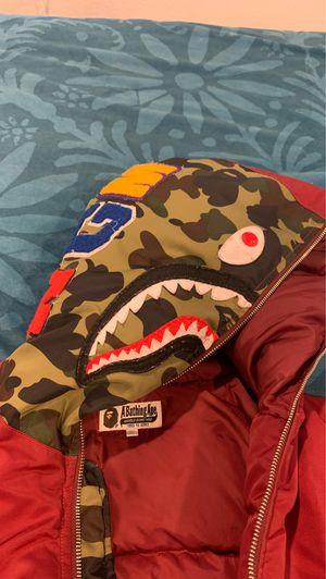 Bape puffer jacket for Sale in Seattle, WA
