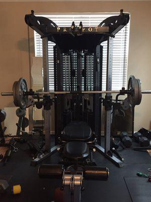 Home gym‼️ Prospot, treadmill & elliptical trainer for Sale in Fairburn, GA