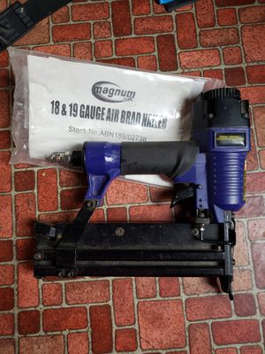 2 air brad nail guns. for Sale in Fenelton, PA