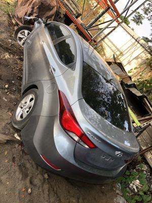 (Only for parts) Hyundai Elantra 2014 Gray for Sale in Orlando, FL