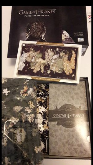 Game of Thrones Puzzle for Sale in Los Angeles, CA