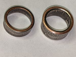 Size 4&4.5 coin ring s for Sale in Winchester, VA