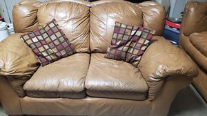 Free Leather Couches for Sale in Stockton, CA