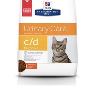 Hills Prescription C/D Urinary Dry Cat Food for Sale in Riverview, FL