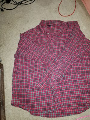 Plaid shirt for Sale in Silver Spring, MD