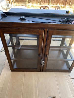 China cabinet with lights for Sale in Phoenix, AZ