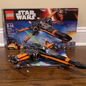 Lego Star Wars (75102) Poe's X Wing for Sale in Berkeley Township, NJ