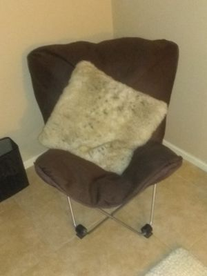 Super soft folding chair for Sale in Glendale, AZ
