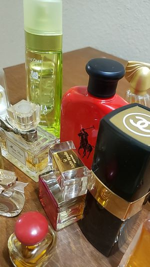 PERFUME NEW & USED CHANEL TOM FORD CHRISTIAN DIOR HUGO BOSS LANCOME CLINIQUE CALVIN KLEIN RALPH LAUREN POLO JUICY MARC JACOBS DKNY LAIRE DU TEMPS for Sale in Scottsdale, AZ