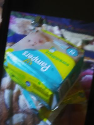 2 bags of Diapers. Size newborn for Sale in Aurora, IL