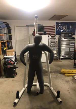 Century boxing stand with Dummy and speed bag for Sale in Joplin, MO