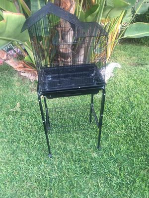 Bird Cage with Stand - In good condition!! for Sale in La Mirada, CA