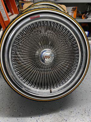 "24"" Chrome Dayton Wheels for Sale in North Tustin, CA"