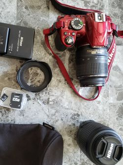 Cámara Nikon D3100 for Sale in Cupertino,  CA
