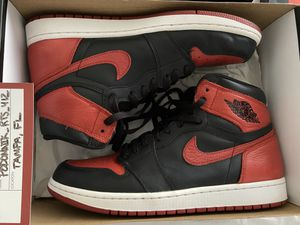 "JORDAN 1 BRED ""BANNED"" (2016) for Sale in Land O' Lakes, FL"