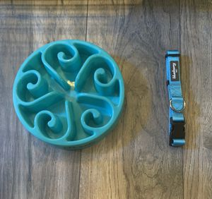 Dog Bowl and Dog Collar for Sale in Escondido, CA