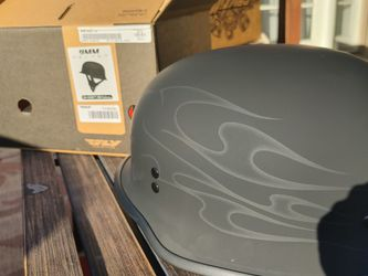 Fly Gear 9mm Motorcycle Helmet Ghost Skull for Sale in Anaheim,  CA