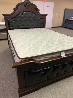 Queen package deal bed frame with free delivery for Sale in Arlington, TX