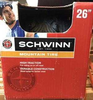 "Schwinn 26"" mountain bike tire new for Sale in Orlando, FL"