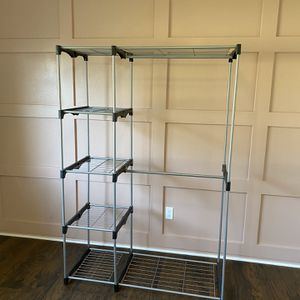 Metal Closet Rack for Sale in Spring, TX