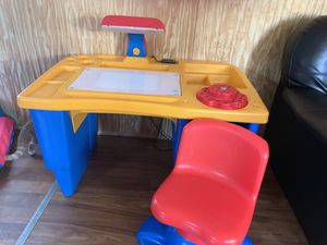 Kids desk and chair for Sale in Zanesfield, OH