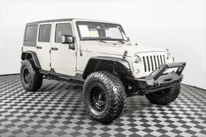 2018 Jeep Wrangler Jk Unlimited for Sale in Puyallup, WA