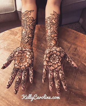 Bridal Henna Designs for Sale in Los Angeles, CA
