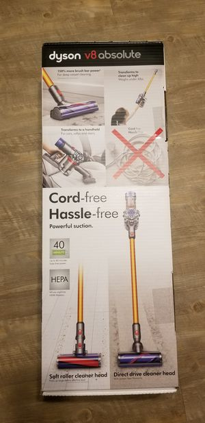 Dyson V8 Absolute handheld vacuum. Not v7 v10 v11 bissell shark tineco iroomba roomba for Sale in Garden Grove, CA