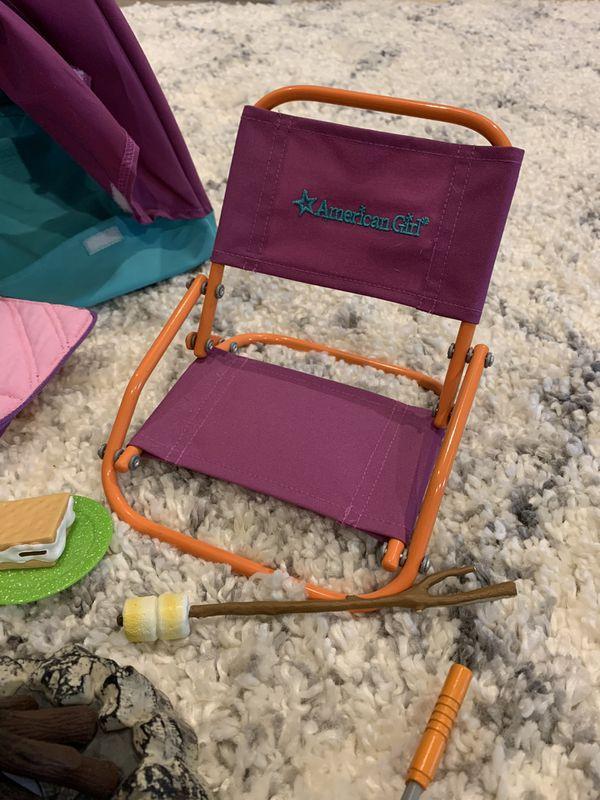 American Girl Doll Camping Set