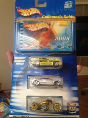 Hot Wheels Collector's Guide Highway 35. 35th Anniversary Special 3 car pack for Sale in Cañon City, CO