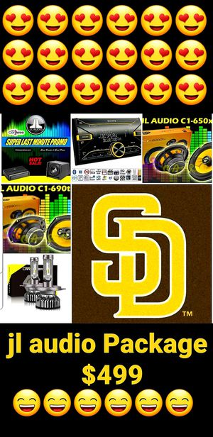 Jl audio Package for Sale in San Diego, CA