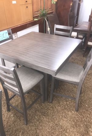 BRAND NEW counter height dining table with 4 chairs for Sale in San Diego, CA