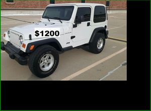 $12OO Jeep Wrangler for Sale in Annapolis, MD