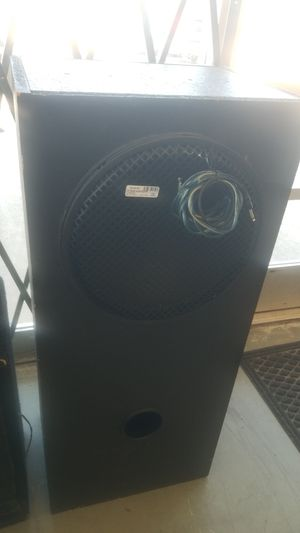 "Bose Subwoofer 15"" for Sale in Denver, CO"