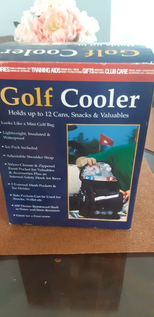 Golf cooler new for Sale in Colton, CA